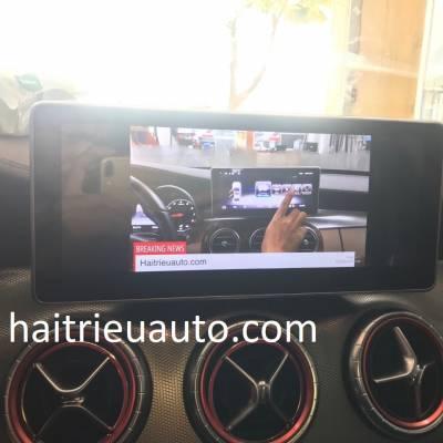Màn hình android theo xe Mercedes CLA 2016