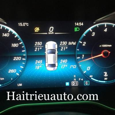 Cảm biến áp suất lốp theo xe Mercedes C300