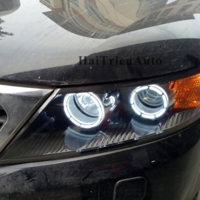 Độ đèn vòng cho xe sorento