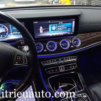 Cửa gió Turbine đèn LED theo xe Mercedes E250
