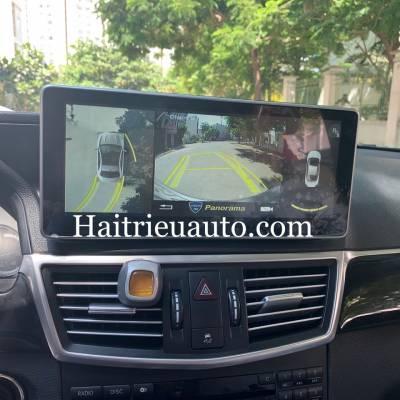 Camera 360 cho xe Mercedes E200