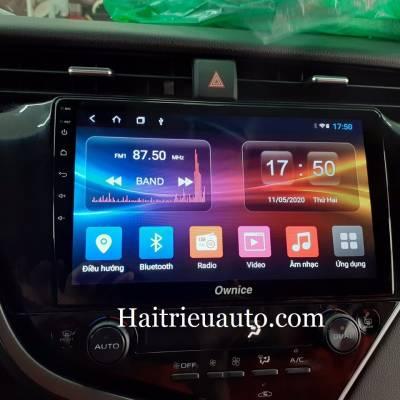 màn hình android theo xe toyota camry 2019