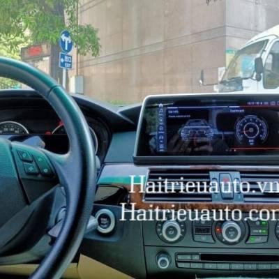 Màn hình android theo xe BMW E60