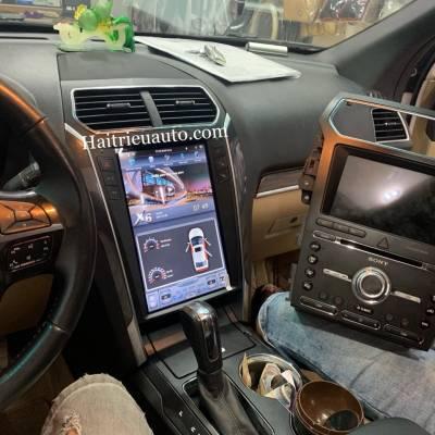 Màn hình tesla android xe Ford Explorer