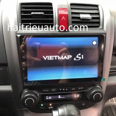 màn hình android theo xe honda CR-V 2010
