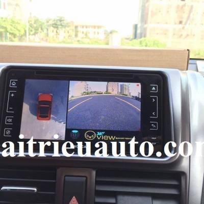 Camera 360 cho xe Toyota Yaris