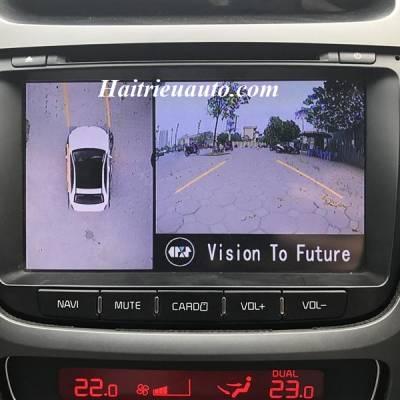Lắp camera 360 độ cho xe Kia Sorento