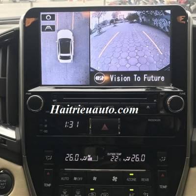 Camera 360 cho xe Landcruiser 2016