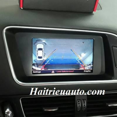 Lắp camera lùi cho xe Audi Q5