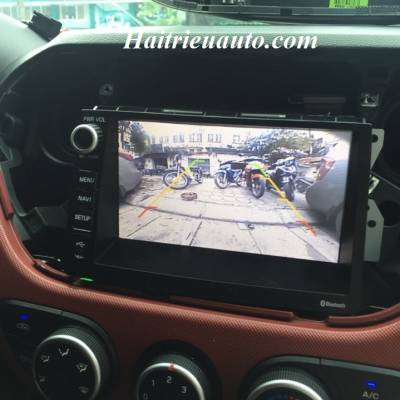 Lắp camera lùi cho Hyundai I20