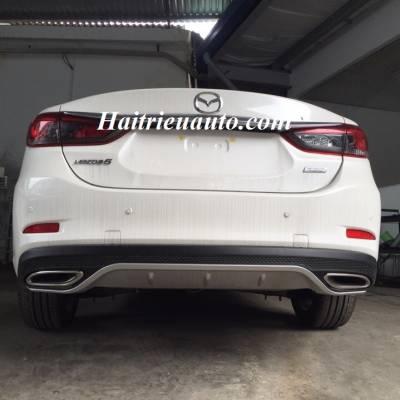 Chia đôi pô Mazda 6