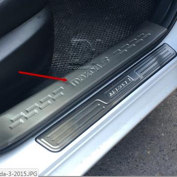 Nẹp bước chân trong Mazda 3
