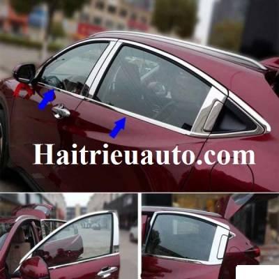 Nẹp chân kính cho xe Honda HR-V