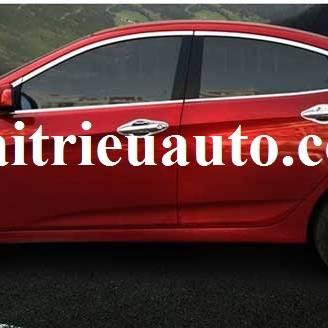 nẹp chân kính cho xe Hyundai Verna