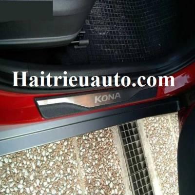 nẹp bước chân ngoài xe Hyundai Kona