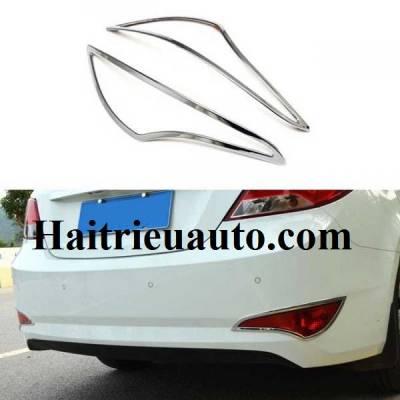 Viền đèn cản sau cho xe Hyundai Verna