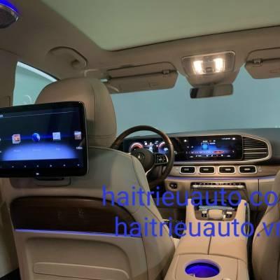màn hình sau theo xe mercedes GLE
