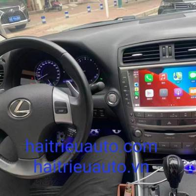 màn hình android theo xe lexus IS 250
