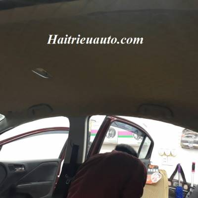 Bọc trần da 5D cho Honda City 2016