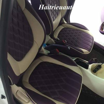 Bọc ghế da cho Kia Morning 2016