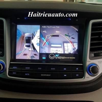 Camera 360 độ cho xe Hyundai Tucson