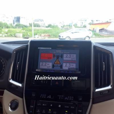 Cảm biến áp suất lốp tích hợp màn hình DVD Land Cruiser