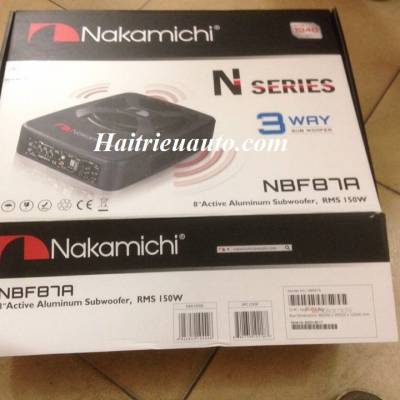 Loa sub gầm ghế Nakamichi NBF 87A