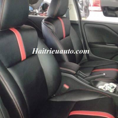 Bọc ghế da Honda City mẫu 1