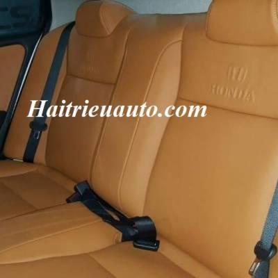 Bọc ghế da Honda City mẫu 2