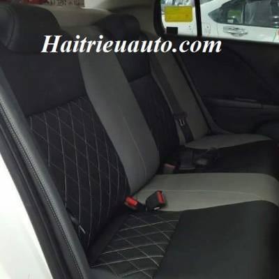 Bọc ghế da Honda City mẫu 7