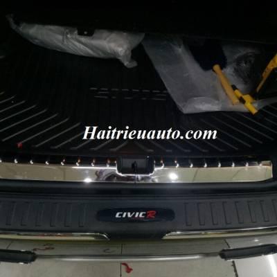 Chống trầy cốp trong ngoài Honda Civic 2017