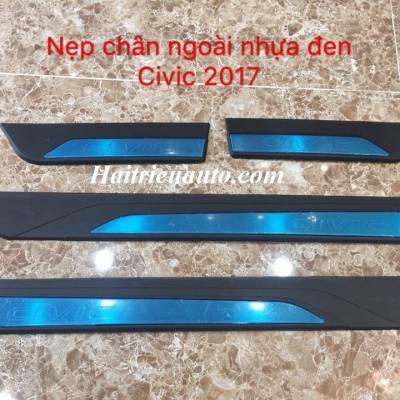Nẹp bước chân cho xe Honda Civic 2017