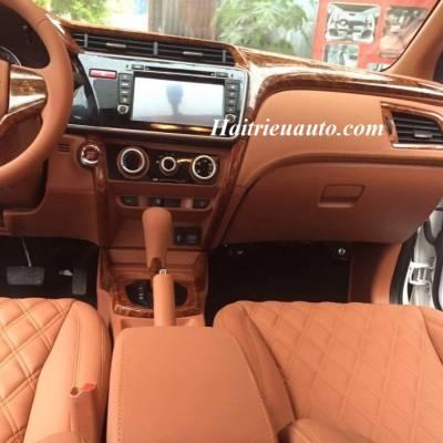 Honda City đổi màu nội thất