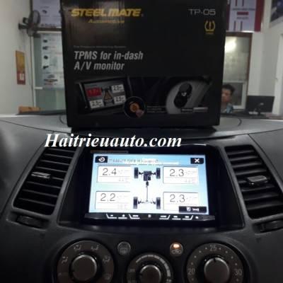 Cảm biến áp suất lốp tích hợp DVD cho xe Grandis