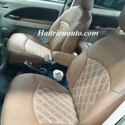 Bọc ghế da cho xe Mitsubishi Grandis