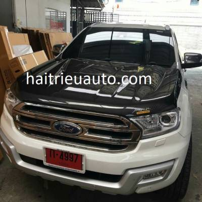 Nắp capo cacbon cho Ford Everest 2017