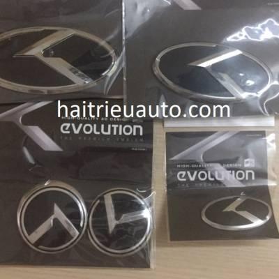 bộ logo mẫu chữ K cho dòng xe KIA Hyundai