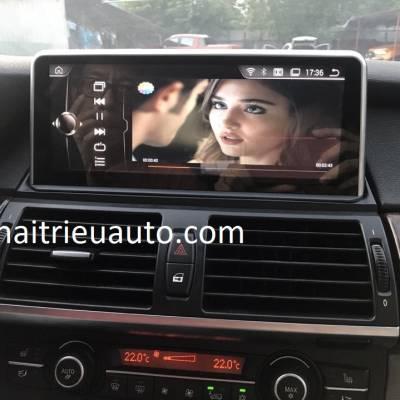 nâng cấp màn hình NBT cho xe BMW X5