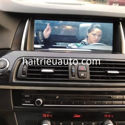 nâng cấp màn hình NBT cho xe BMW 520I