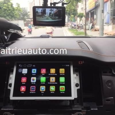 ford ranger lên android và vietmap vào màn hình zin