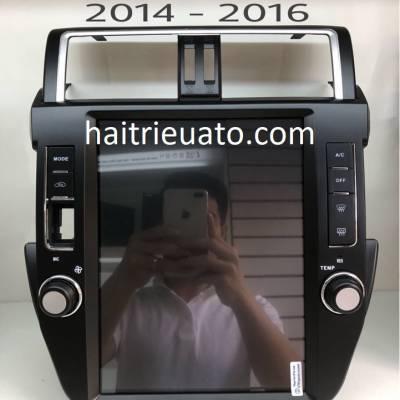 Màn hình tesla cho xe Toyota Land Cruiser Prado 2014-2017