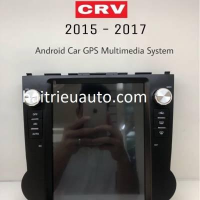 màn hình Tesla Honda CRV
