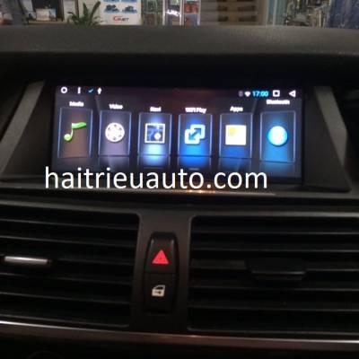 màn hình android theo xe BMW X5
