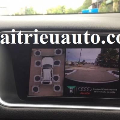Lắp camera 360 cho Audi Q7