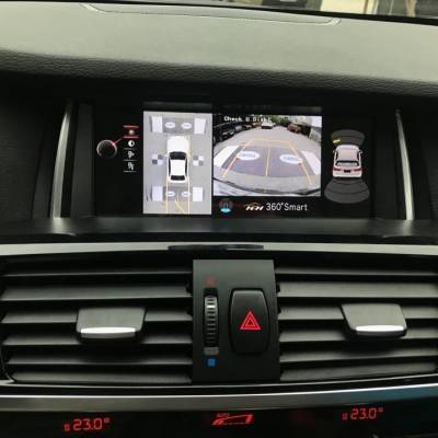 Camera 360 cho xe BMW X3 2017