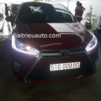 độ đèn led cho xe toyota Yaris 2017