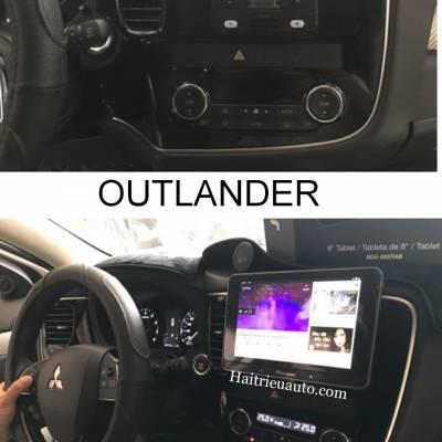 Màn hình android Pioneer cho xe Mitsubishi Outlander