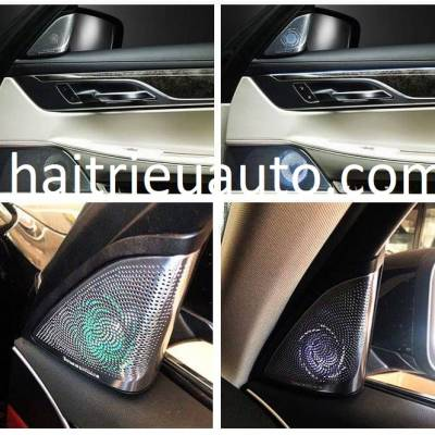 loa cột A đèn led theo xe BMW