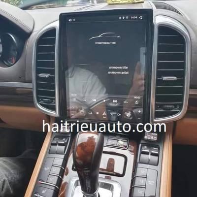 màn hình android Porsche Cayenne