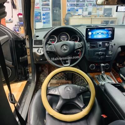 Nâng cấp vô lăng cho Mercedes C200 2007-2010